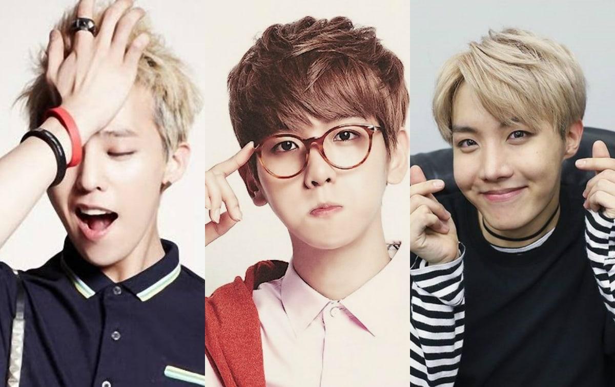 male -pop idols hands