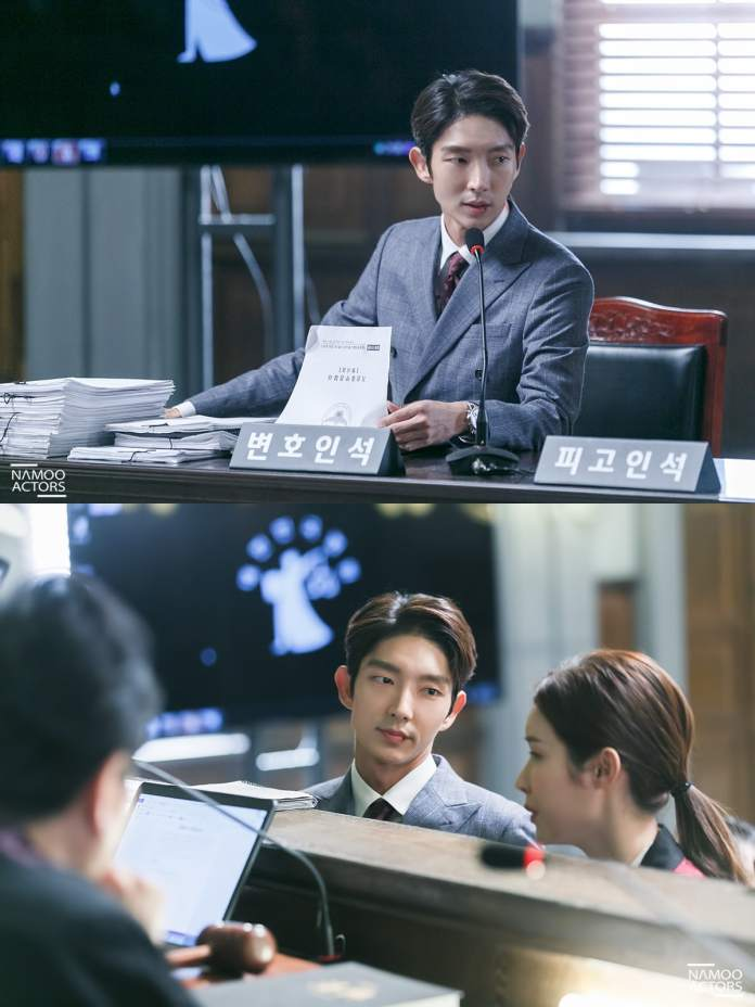 """- Lee Joon Gi4 - Lee Joon Gi Smiles In Handcuffs And Shows Confidence In The Courtroom In """"Lawless Lawyer""""  - Lee Joon Gi4 - Lee Joon Gi Smiles In Handcuffs And Shows Confidence In The Courtroom In """"Lawless Lawyer"""""""