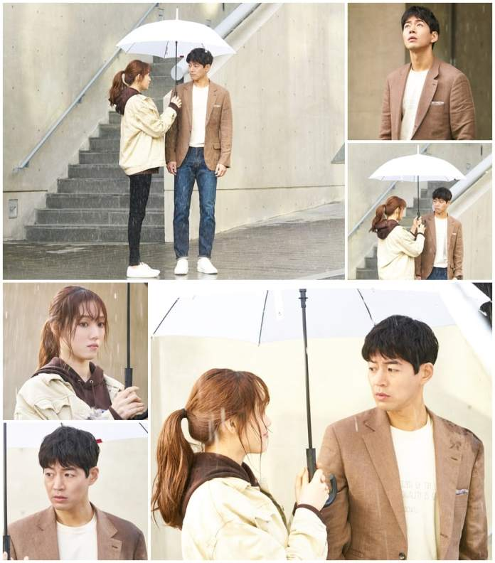 "- Lee Sung Kyung Lee Sang Yoon3 - Lee Sung Kyung And Lee Sang Yoon Share A Sweet Moment In The Rain In ""About Time""  - Lee Sung Kyung Lee Sang Yoon3 - Lee Sung Kyung And Lee Sang Yoon Share A Sweet Moment In The Rain In ""About Time"""