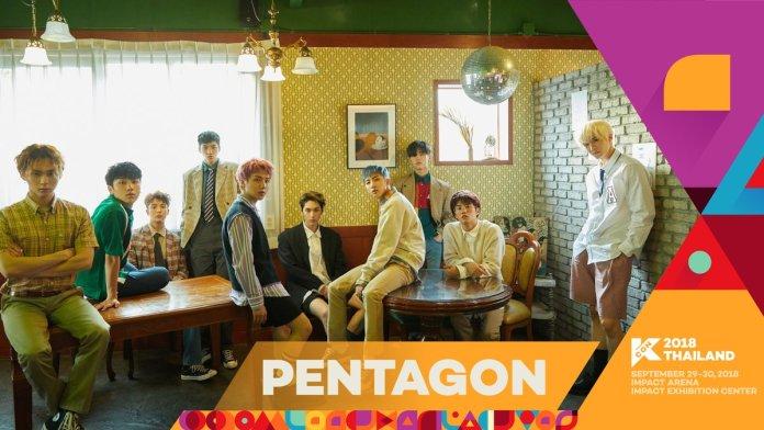 - PENTAGON - GOT7, PENTAGON, And More Announced For First Lineup Of KCON 2018 Thailand  - PENTAGON - GOT7, PENTAGON, And More Announced For First Lineup Of KCON 2018 Thailand