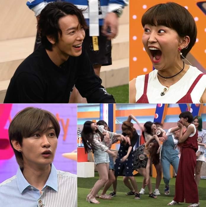 "- MOMOLAND Super Junior1 - Watch: MOMOLAND Stuns Super Junior With Their Energy And Unique Skills On ""Super TV 2""  - MOMOLAND Super Junior1 - Watch: MOMOLAND Stuns Super Junior With Their Energy And Unique Skills On ""Super TV 2"""