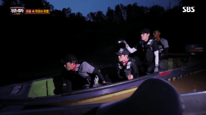 """- law of the jungle  - Wanna One's Ha Sung Woon Shows His Survival Skills As Fastest Idol To Light Fire On """"Law Of The Jungle""""  - law of the jungle  - Wanna One's Ha Sung Woon Shows His Survival Skills As Fastest Idol To Light Fire On """"Law Of The Jungle"""""""