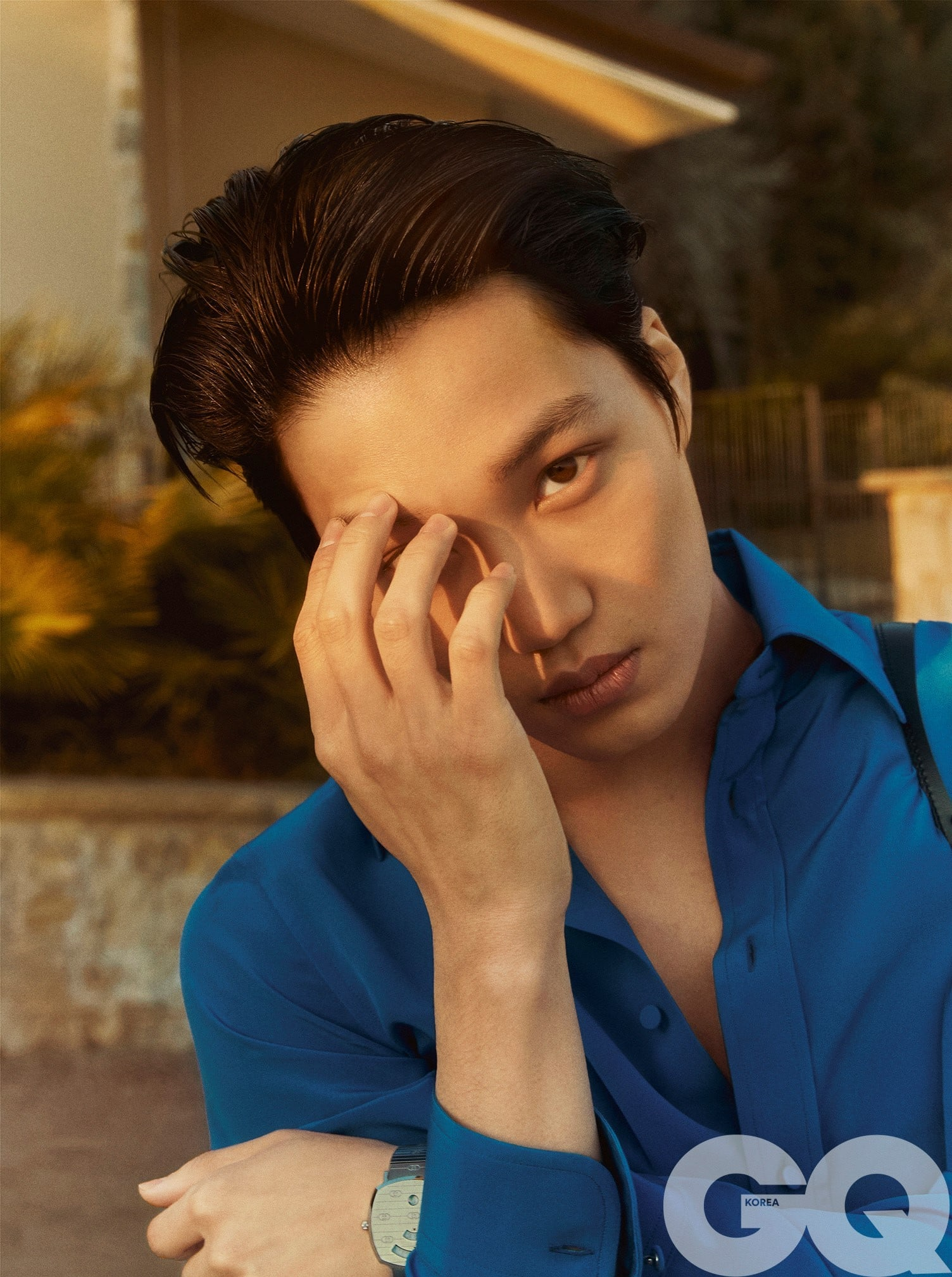 Kai Photoshoot : photoshoot, EXO's, Embodies, Gucci, Mesmerizing, Fashion, Photo, Shoot, Soompi