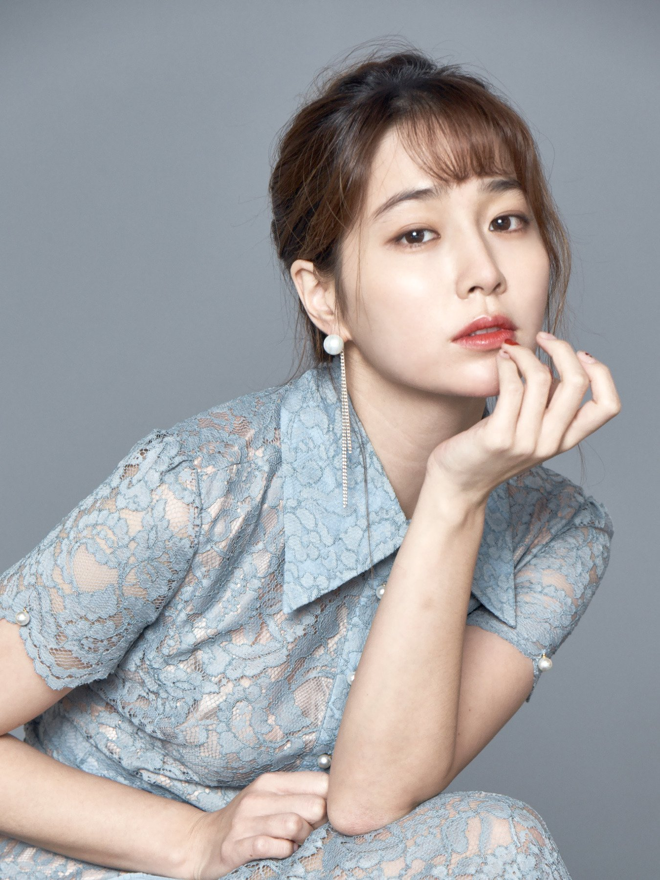 """Lee Min-jung : min-jung, Chemistry, """"Once, Again,"""", Husband, Byung, Their, Reacted, Romance, Scenes,, Soompi"""