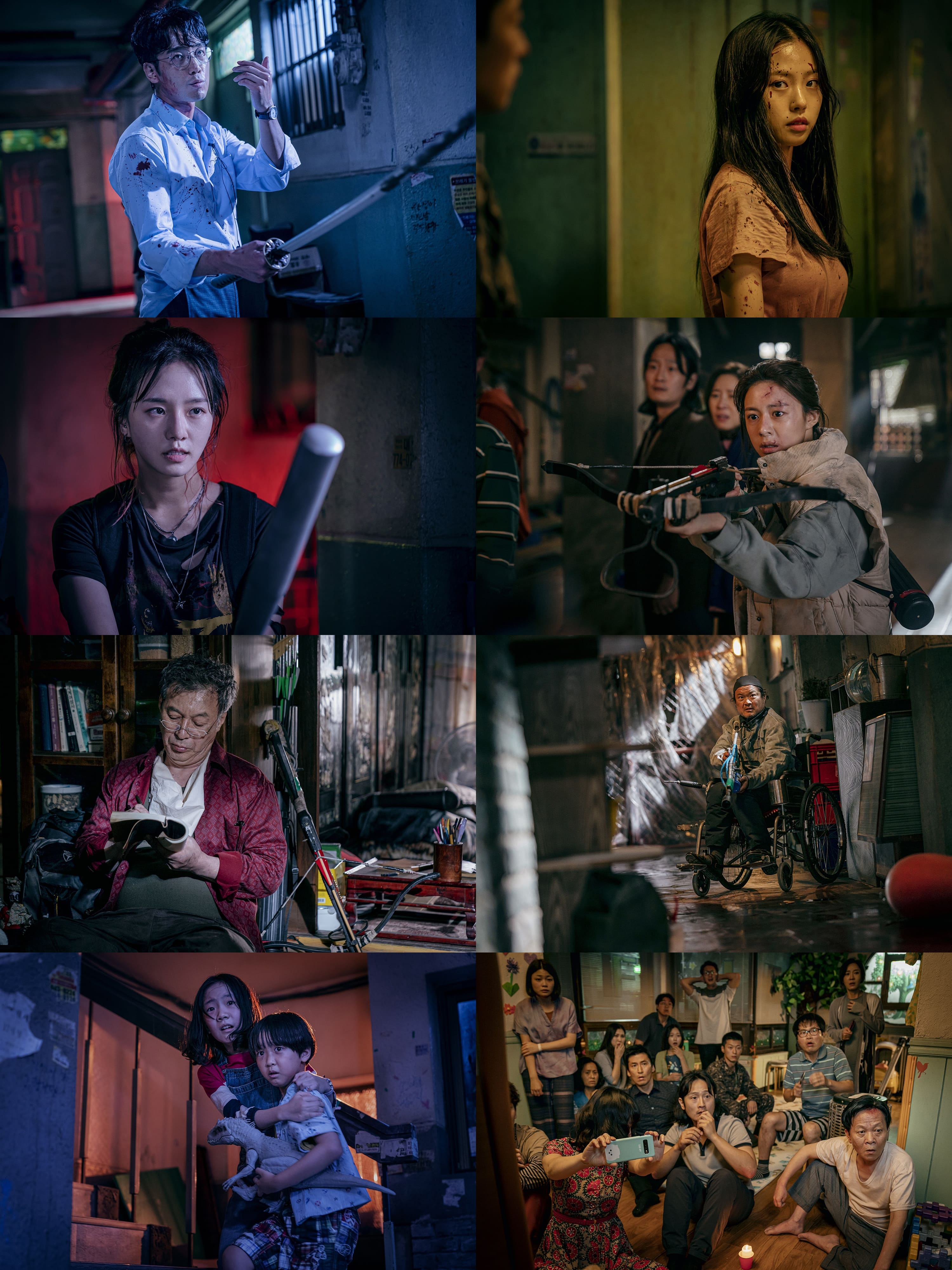 I made the video ending with special care, so please watch it. Song Kang Lee Si Young Lee Do Hyun And More Fight To Survive In Sweet Home Soompi