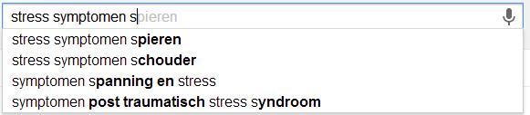 Stress symptonen 2 suggesties