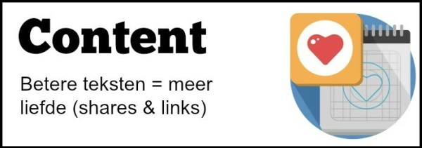 Content optimalisatie