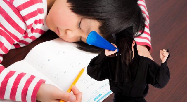 夏休み宿題終わらない