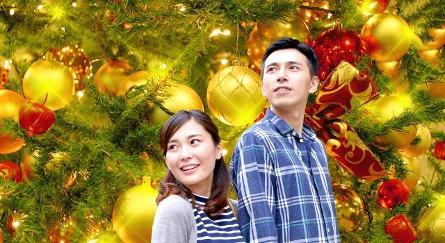 カップル クリスマス