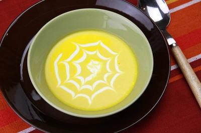 ハロウィン スープ