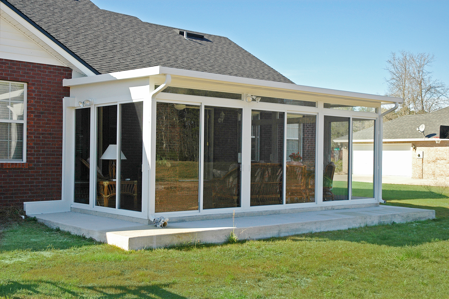 Betterliving patio sunrooms of pittsburgh studio rooms for Porch sunroom