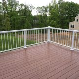 VEKA DECK WITH ALUMINUM RAILINGS BY BETTERLIVING SUNROOMS & AWNINGS OF PITTSBURGH