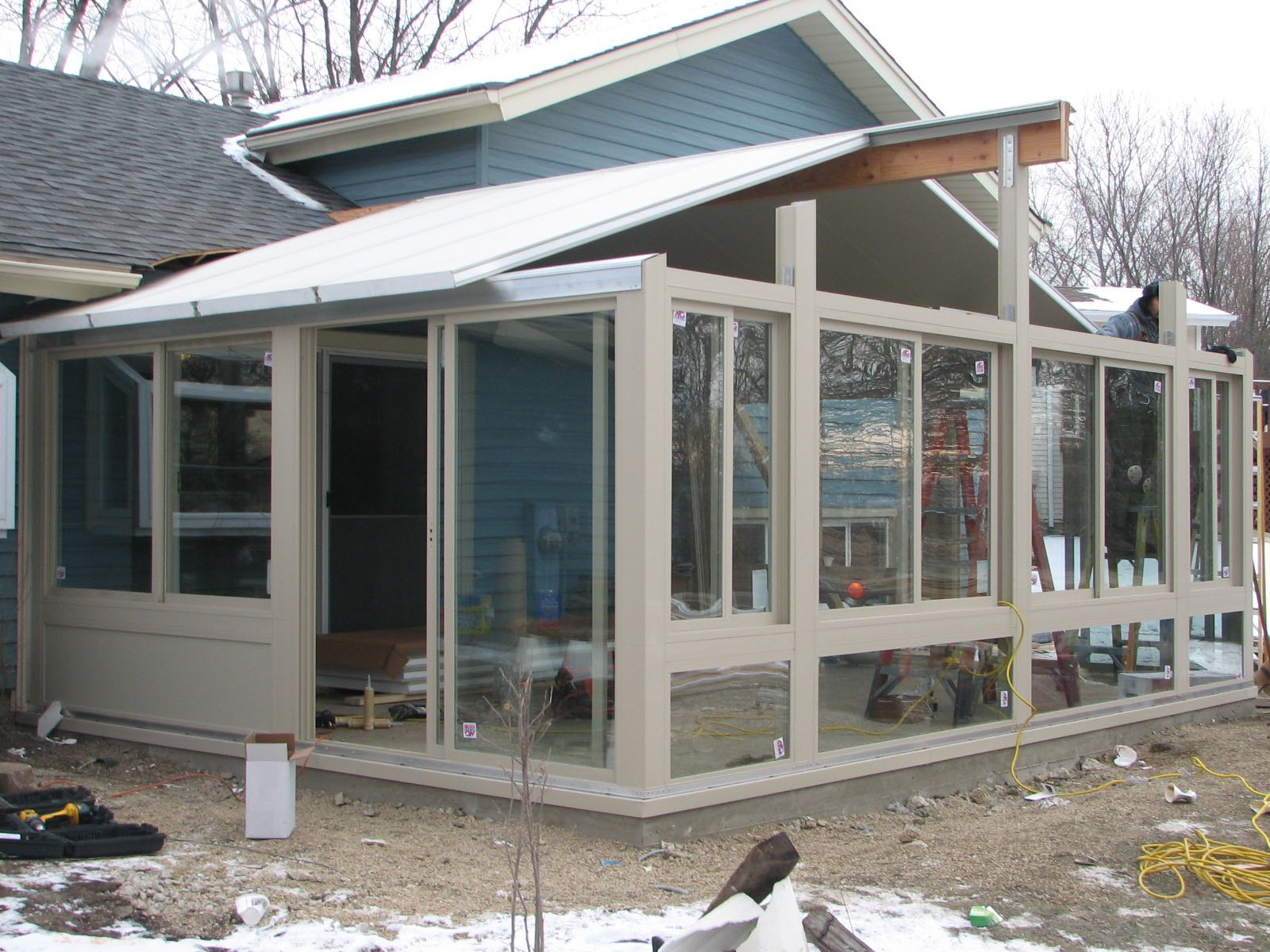 Construction Process Betterliving Patio Sunrooms Of Pittsburgh