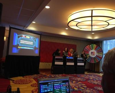 Hosting the Wheel of Fortune game