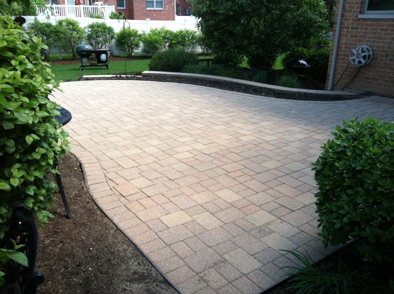 Before Photo of Stone Driveway
