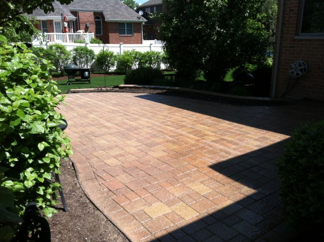 After Photo of Stone Driveway