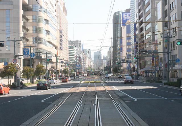 Hiroshima by tram