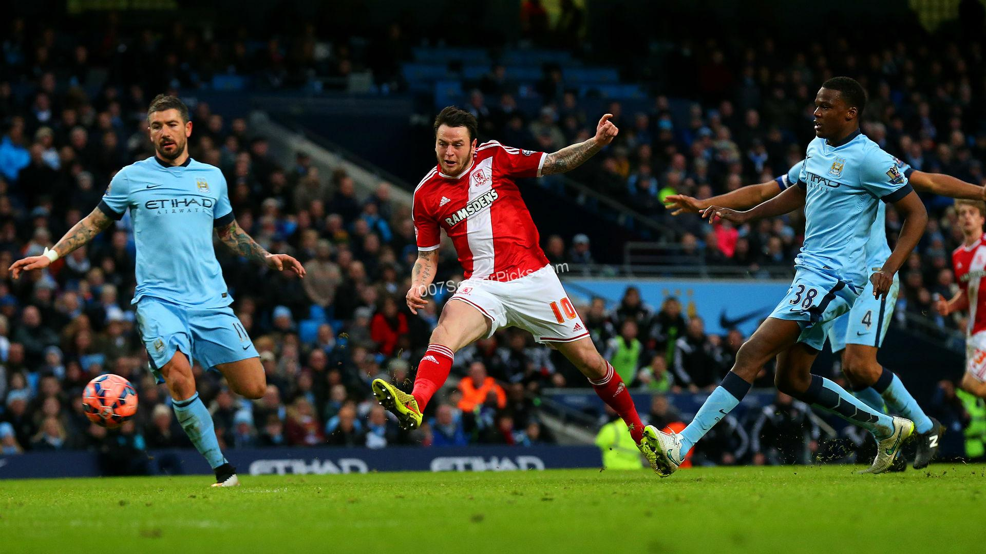 Manchester City Vs Middlesbrough  Prediction & Preview