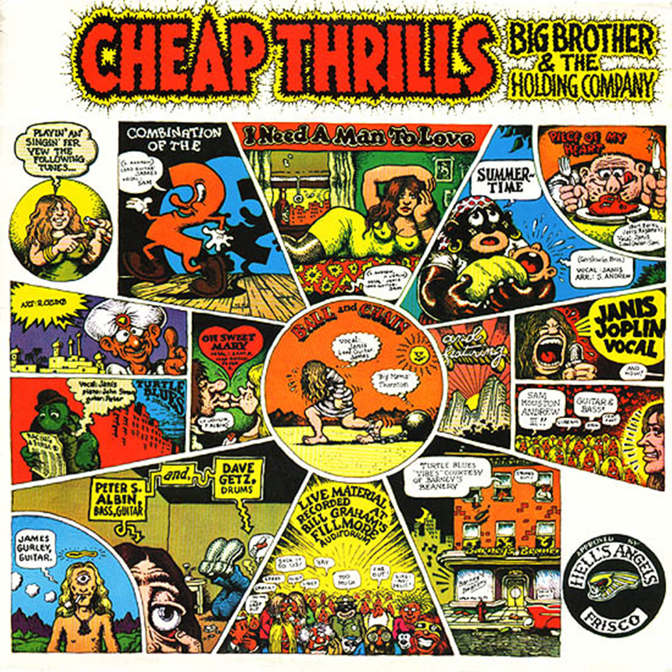 Cheap Thrills Big Brother And The Holding Company