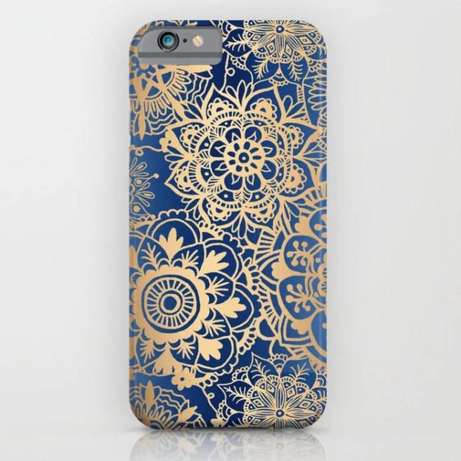 mandala pattern iphone case