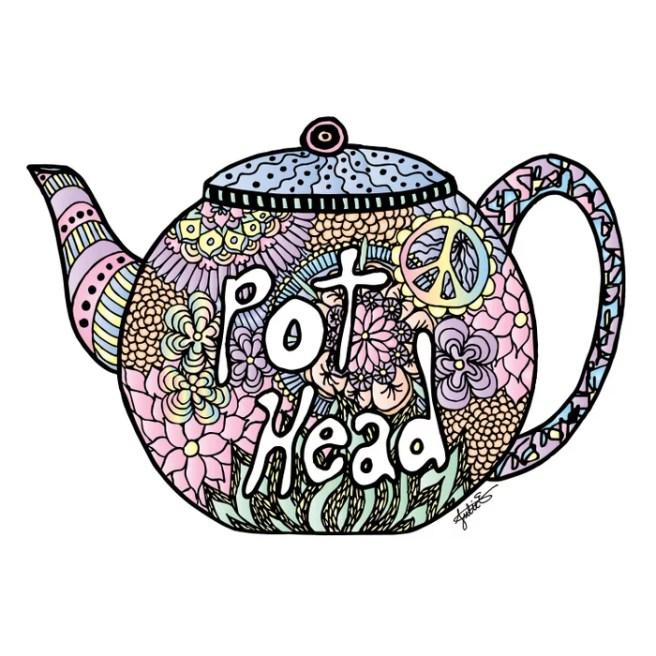 pot head teapot live trace illustrator tutorial