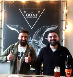 The Goat Beer brewers