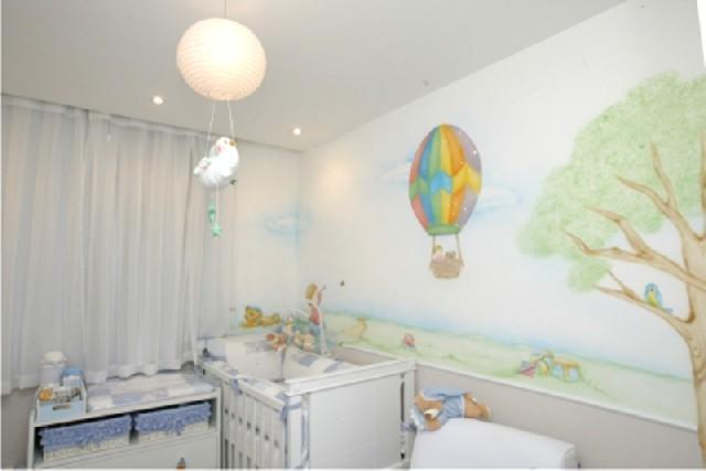 Pintura de parede em quartos de bebe  Classificados Brasil