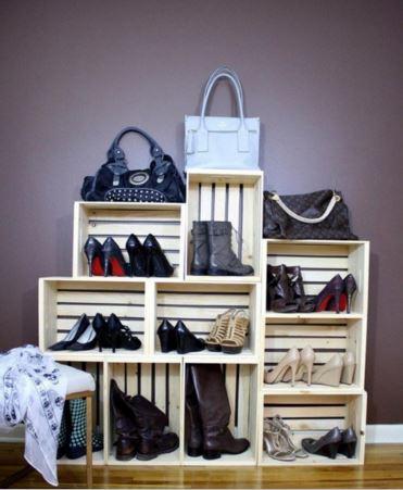 10 Ides De Rangements Chaussures Rcup Faire Soi Mme