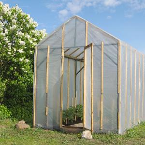 comment fabriquer une serre de jardin