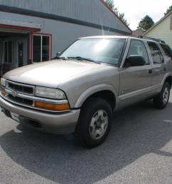 pre owned 2003 chevrolet blazer 4d suv 4wd ls [ 3264 x 2448 Pixel ]