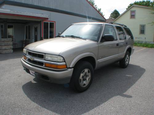 small resolution of pre owned 2003 chevrolet blazer 4d suv 4wd ls