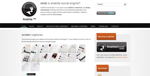 Anahita, Le CMS open source basé sur Joomla