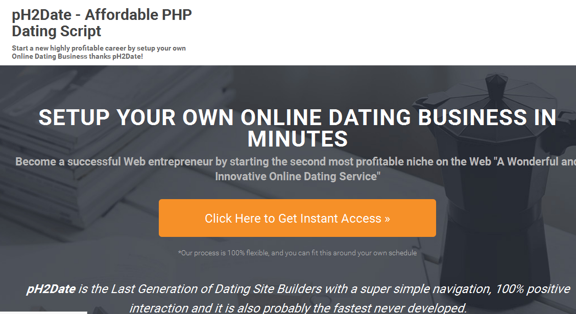 pH2Date - Dating Site Builder