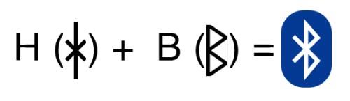 Origine du logo bluetooth