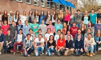 0297nl  Geslaagden VeenLanden College Mijdrecht en Vinkeveen