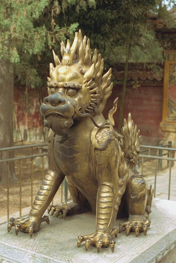 Sculpture In Forbidden City . Beijing Special