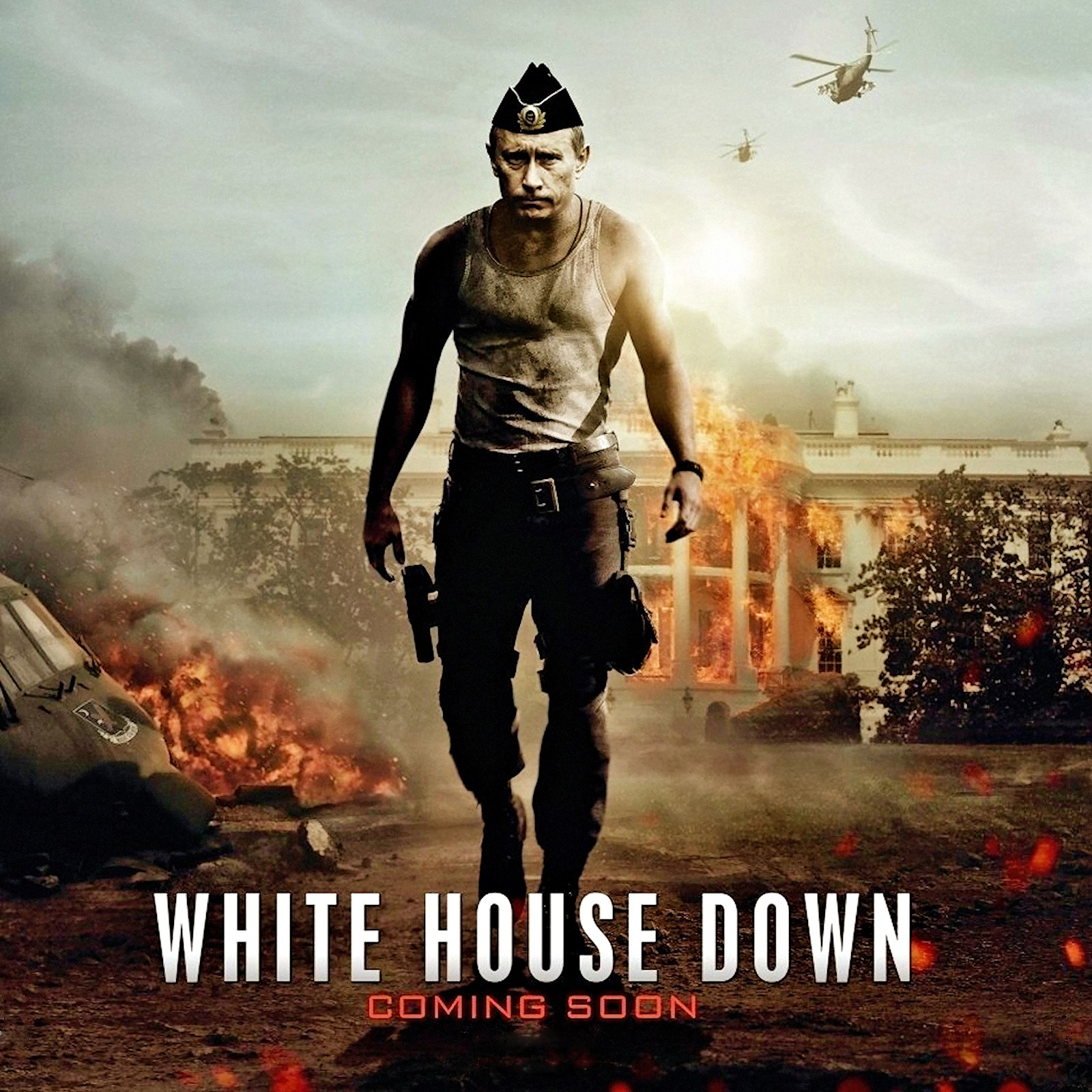 White House Down  Voices from Russia