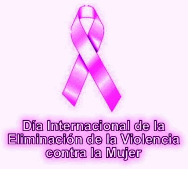 Resultado de imagen de 25 noviembre día nacional para la eliminación de la violencia contra la mujer