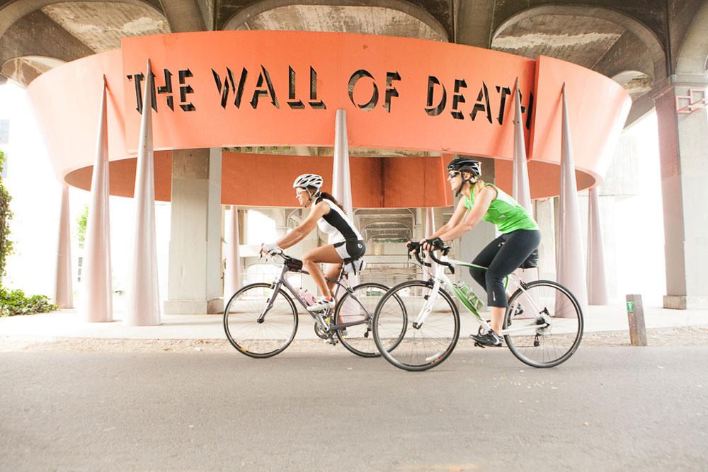 The Wall of Death near UW