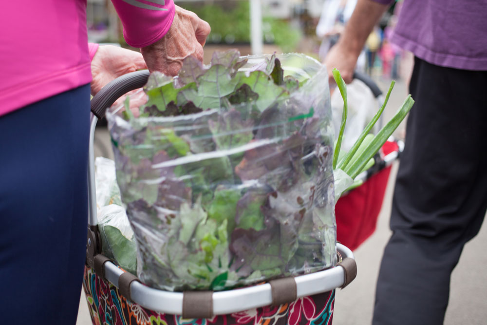 Farmers Market Week veggies