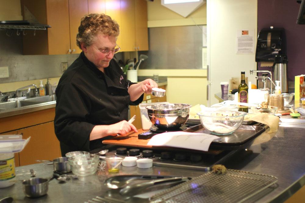 allergen-free cooking Shari measuring