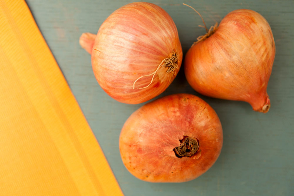 Northwest Fall Produce Shallots