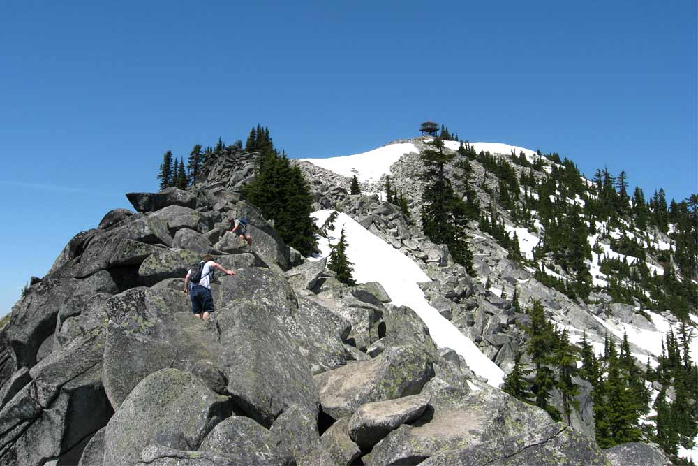 extreme trails granite mountain