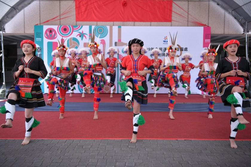 1090629-化仁國中原族民舞蹈班表演
