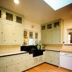 Yellow Pine Kitchen Cabinets Portable Cart Updating Old Modern Home Interior Ideas 1930s Update Nr Hiller Design Inc For Cabinet Doors