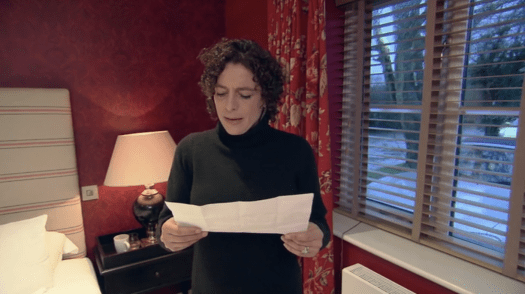 Alex Polizzi at the Crown and Garter, Inkpen