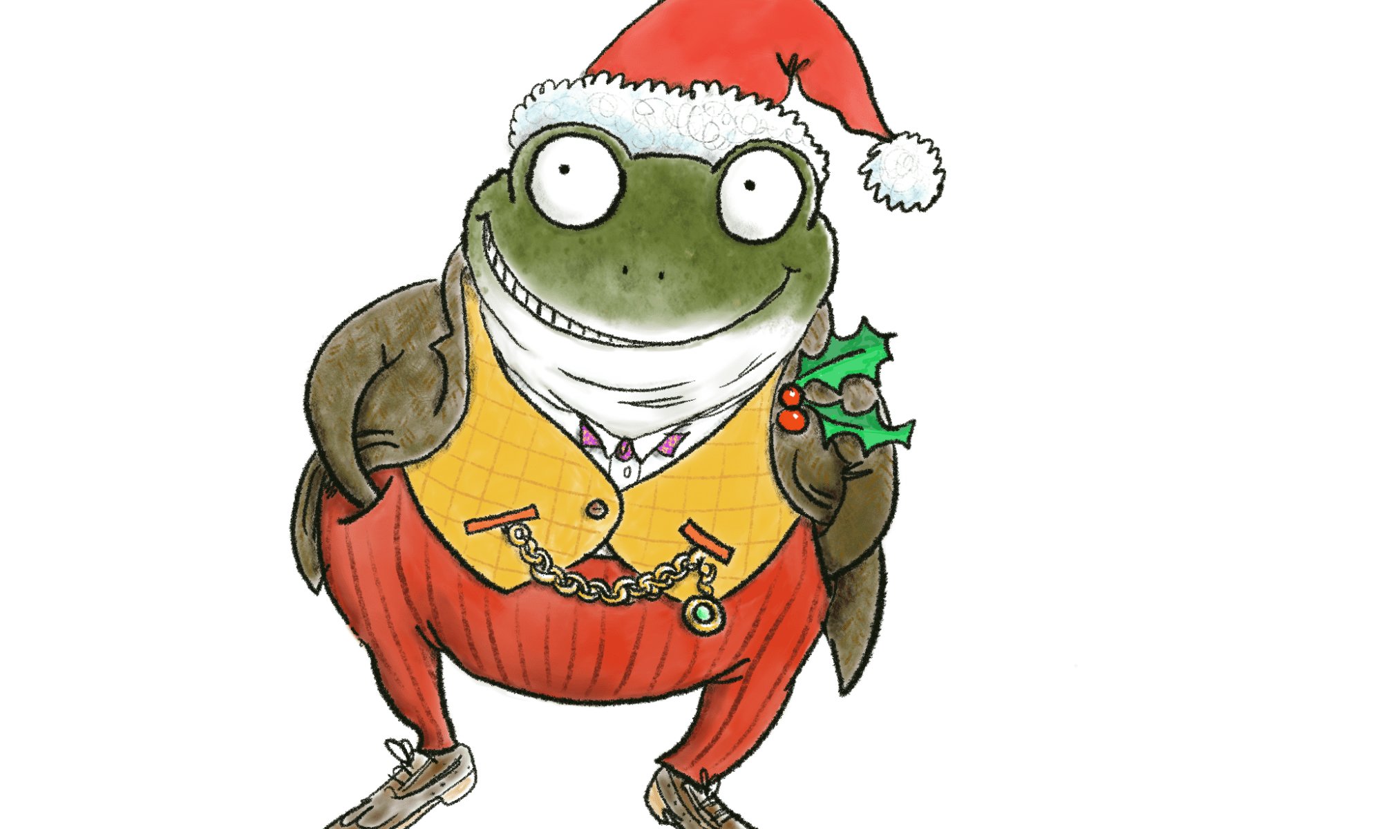 Mr Toad Wind In The Willows Pangbourne at Christmas