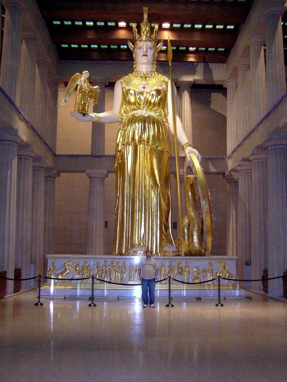 Antiokhos. Athena Parthenos. 1st Century Bc. Copy Of 5th