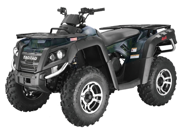 300cc Water Cooled, Utility Body, 4 Speed Manual Transmission w/ Reverse, Electric Start, Front/Rear Disc Brakes