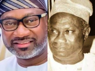 Meet The Father Of Billionaire, Femi Otedola Who Was The Governor Of Lagos State (Photos)